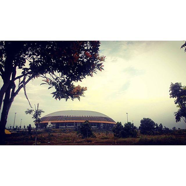 Stadion Utama Riau Siapa Sore Suka Jogging Cuman Instagram Post