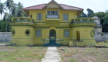 Anjungan Riau Empat Rumah Melayu Djangki Kepulauan Istana Kantor Musium