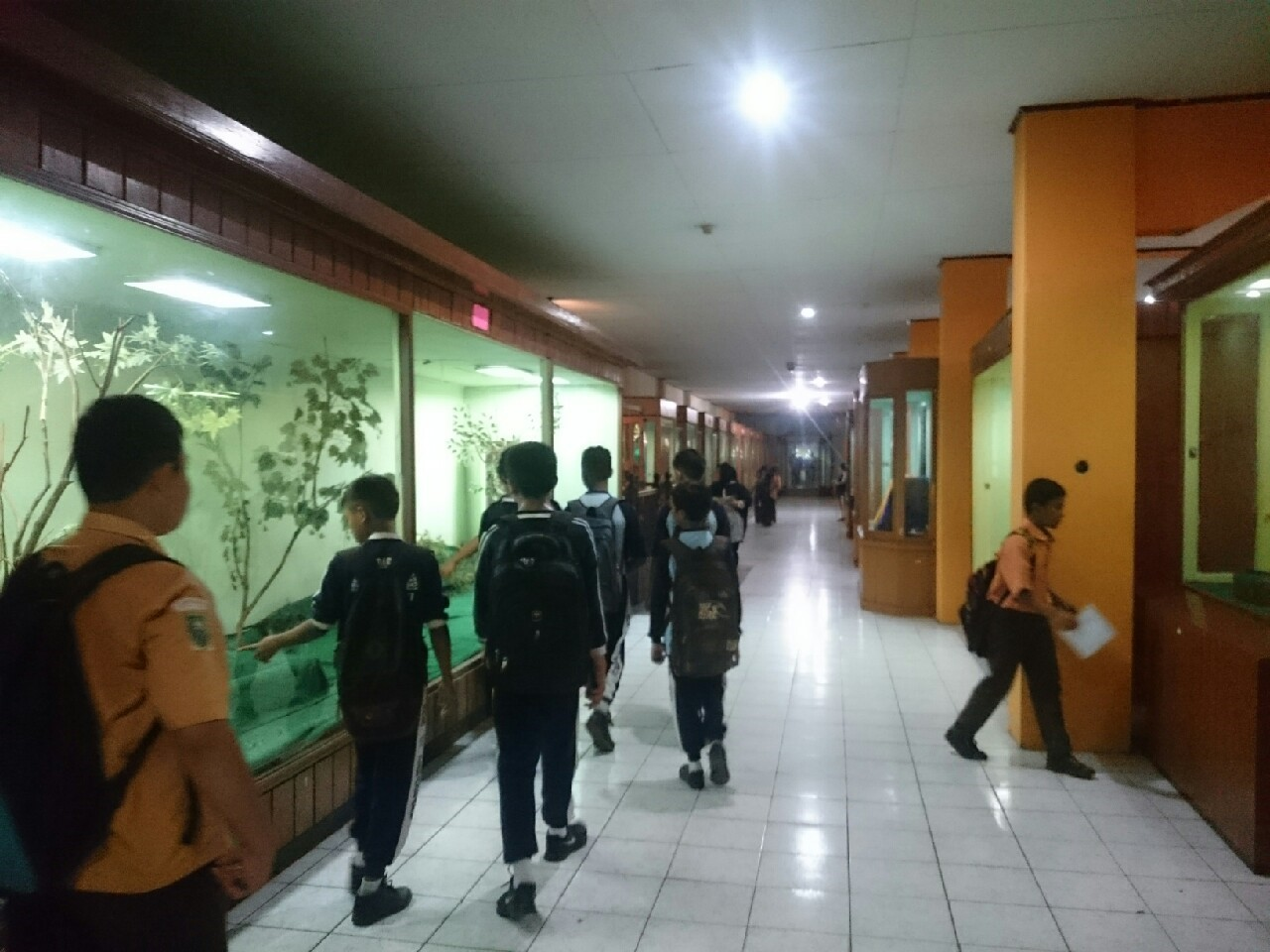 Pameran Museum Nila Utama Menarik Minat Pengunjung Pihak Mengundang Sekolah