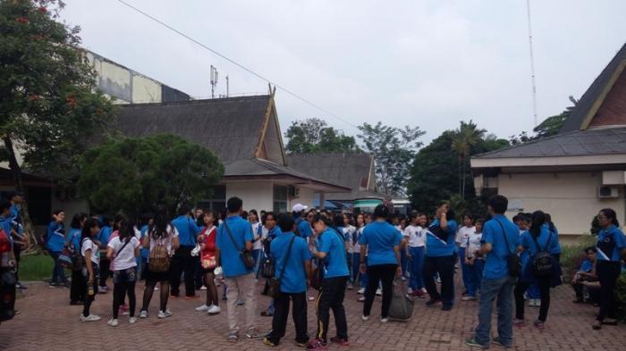 Sd Dharma Loka Kunjungi Museum Nila Utama Taman Budaya Musium