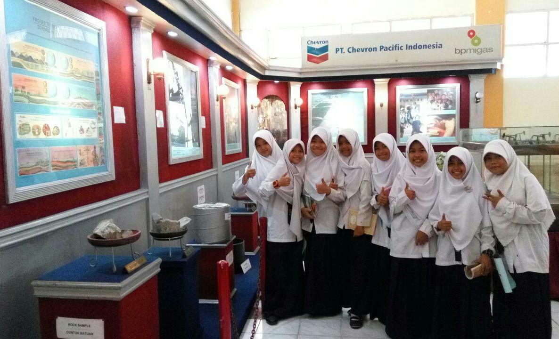 Smp Juara Pekanbaru Kunjungi Museum Nila Utama Siswa Musium Kota