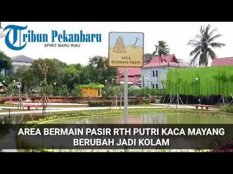 Arena Teater Bermain Pasir Rth Putri Kaca Mayang Berubah Jadi