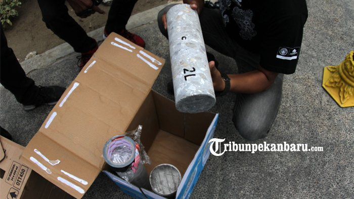 Foto Saksi Ahli Cek Rth Kaca Mayang Pekanbaru Terkait Dugaan