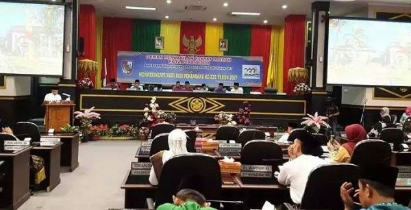 Kota Pekanbaru Kado Rth Paripurna Istimewa Hut Gubernur Riau Arsyadjuliandi