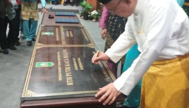 Rth Putri Kaca Mayang Tunjuk Ajar Integritas Resmi Dibuka Dua