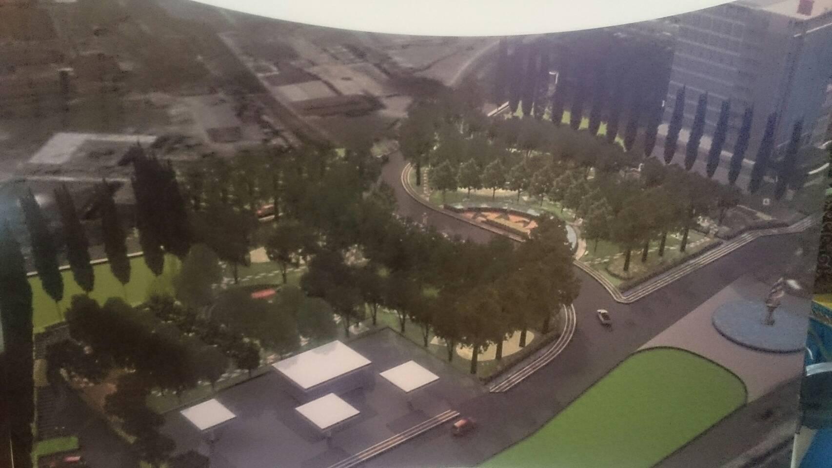 Ruang Terbuka Hijau Pekanbaru Rth Putri Kaca Mayang Kota