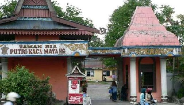 Taman Kaca Mayang Lahan Eks Pu Dibangun Rth Luar Negeri