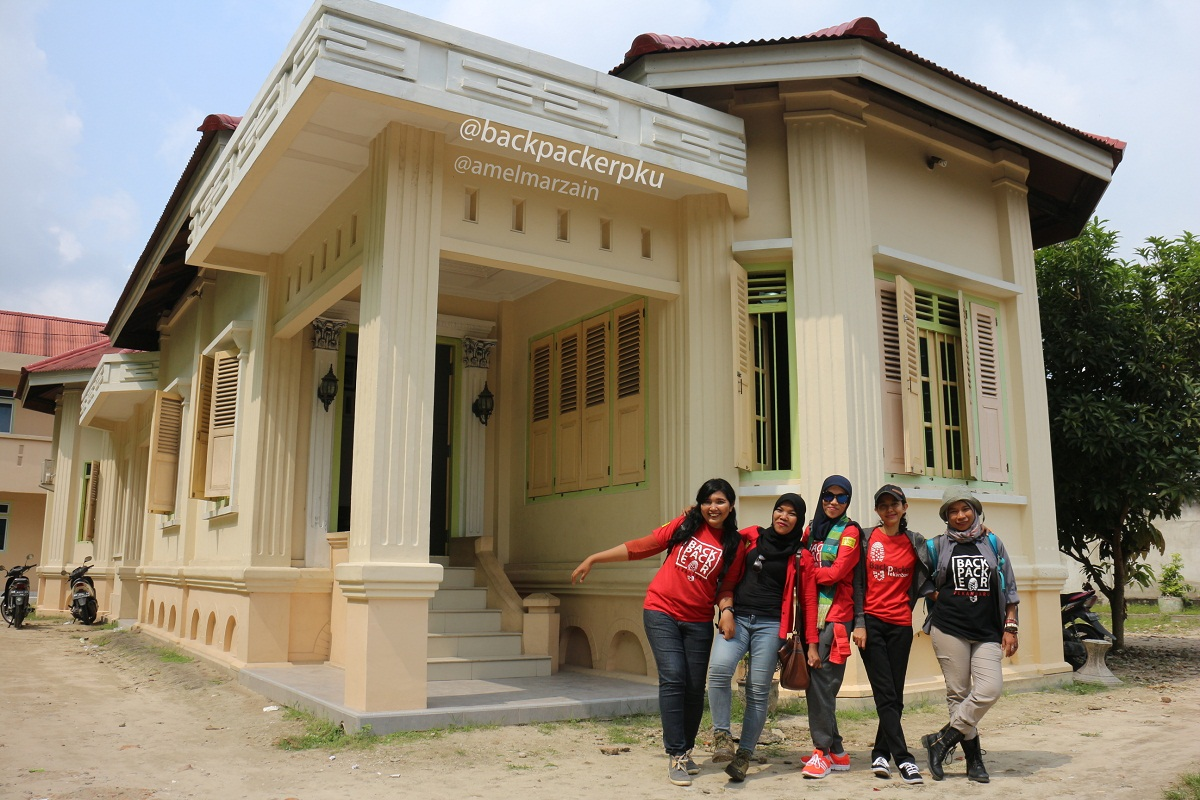Bekpekeran Telusuri Jejak Sejarah Kota Pekanbaru Cerita Amel Rumah Tuan