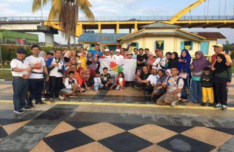 Dinas Pariwisata Prov Riau Komunitas Penggiat Acara Pekanbaru Heritage Walk