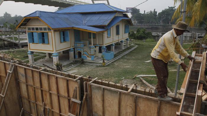 Foto Penataan Kawasan Cagar Budaya Tribun Pekanbaru Rumah Singgah Tuan