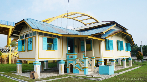 Jelajah Sejarah Pekanbaru Bersama Heritage Walk Rumah Singgah Tuan Kadi