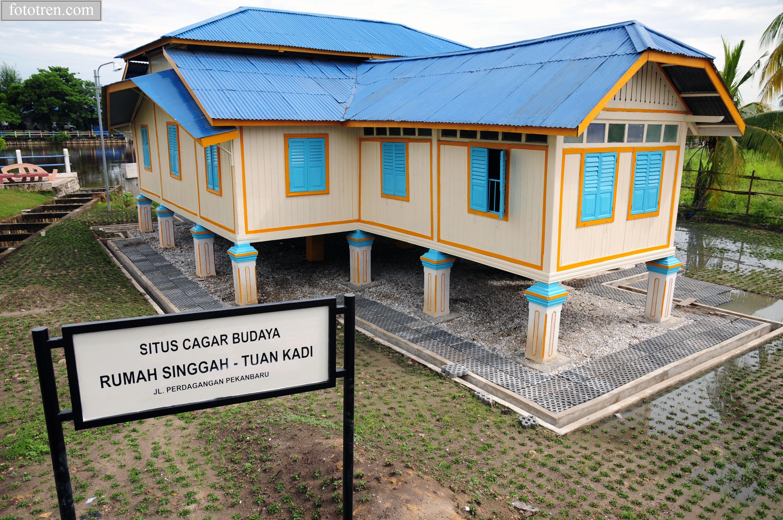 Kediaman Hakim Agung Peninggalan Kesultanan Siak Sri Indrapura Pekanbaru Riau
