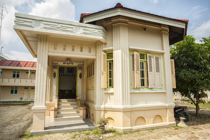 Kerajaan Siak Kedai Kopi Rumah Tuan Qadhi Dikenal Istilah Istana
