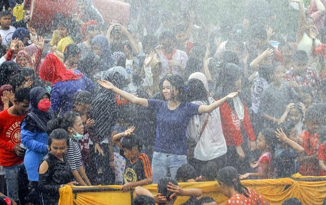 Mengenang Kejayaan Kerajaan Siak Tradisi Potang Balimau Masyarakat Kota Pekanbaru