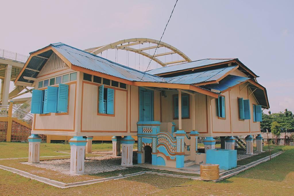 Menjelajah Pekanbaru Melalui Tempat Bersejarah Rumah Singgah Tuan Kadi Kota