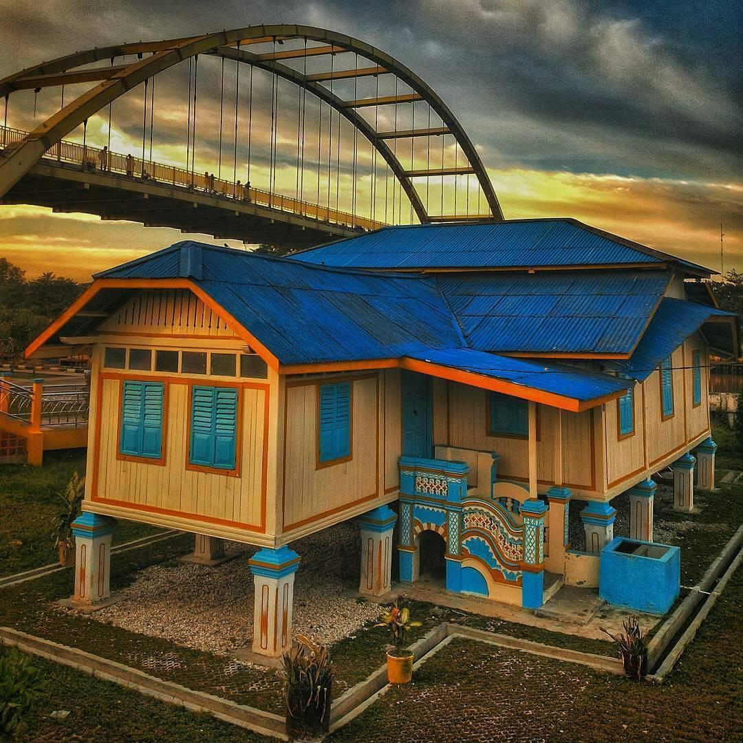 Menyelami 6 Lokasi Bersejarah Lewat Pekanbaru Heritage Walk Rumah Singgah