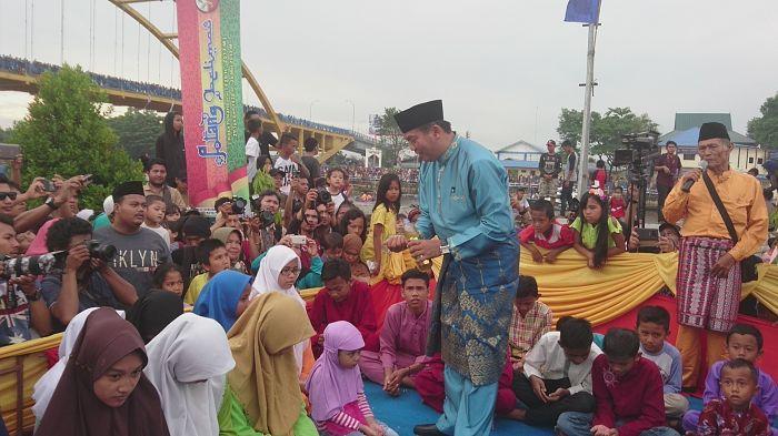 Petang Belimau Taman Rumah Singgah Tuan Kadi Riau Barometer Pekanbaruporosriau