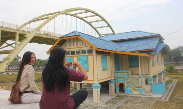 Rumah Singgah Sultan Tepian Sungai Siak Pekanbaru Mulai Diminati Turis