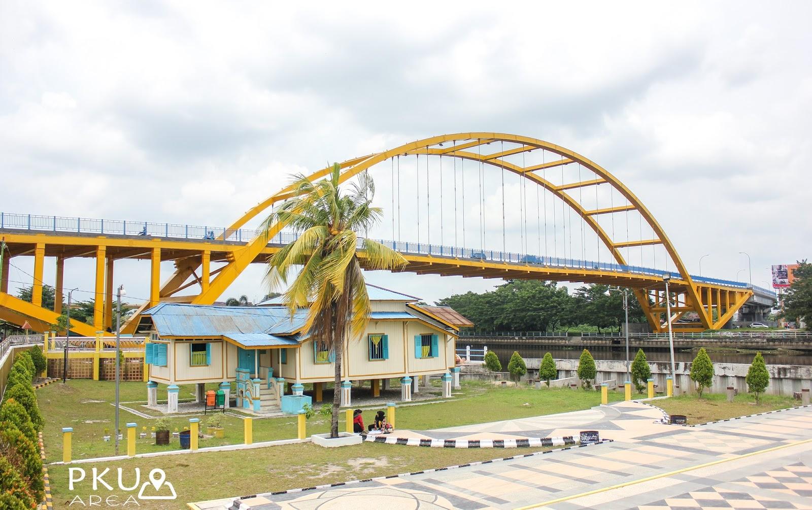 Situs Cagar Budaya Rumah Singgah Tuan Kadi Pekanbaru Area Dulunya