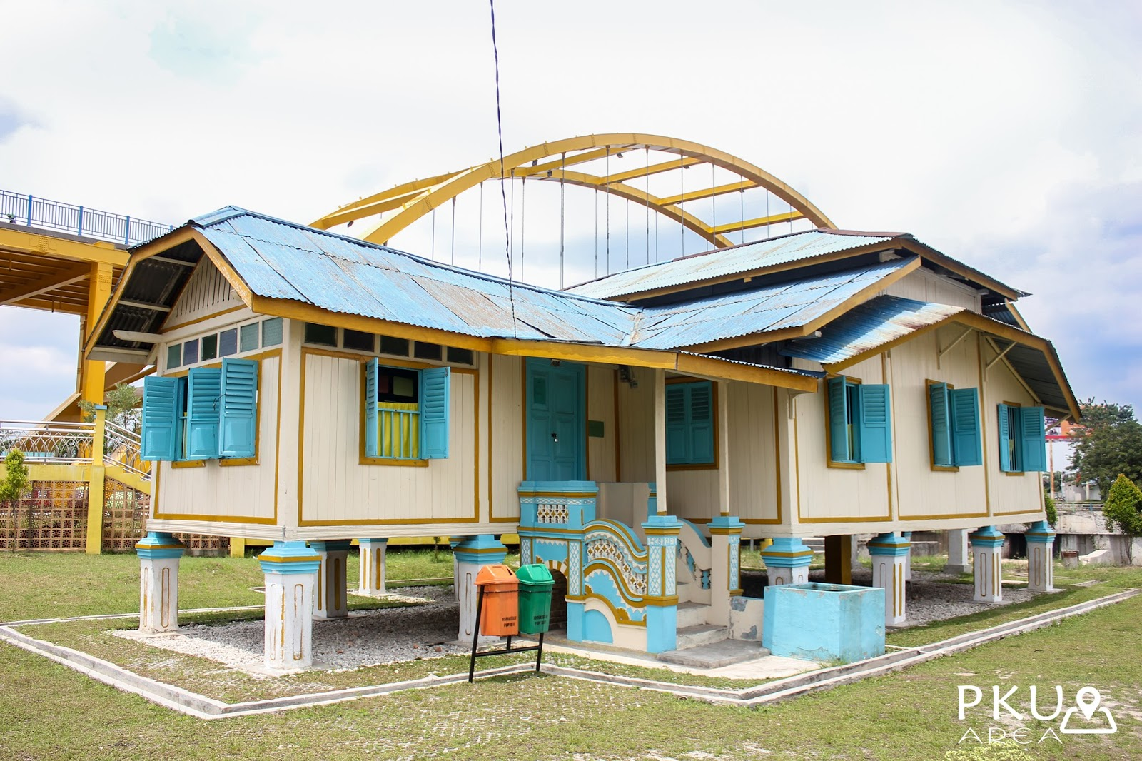 Situs Cagar Budaya Rumah Singgah Tuan Kadi Pekanbaru Area Kota