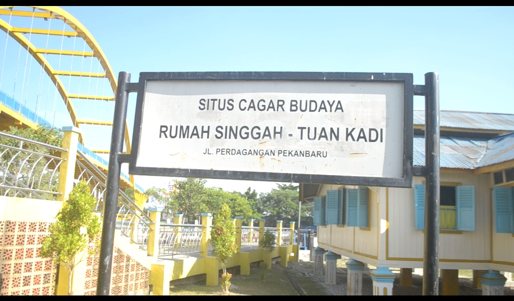Wisata Edukasi Mengunjungi Cagar Budaya Pekanbaru Shasa Plang Nama Situs