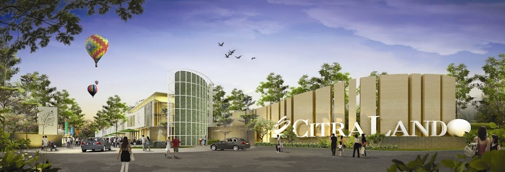 Clean Green Modern Citraland Taman Air Kota Pekanbaru