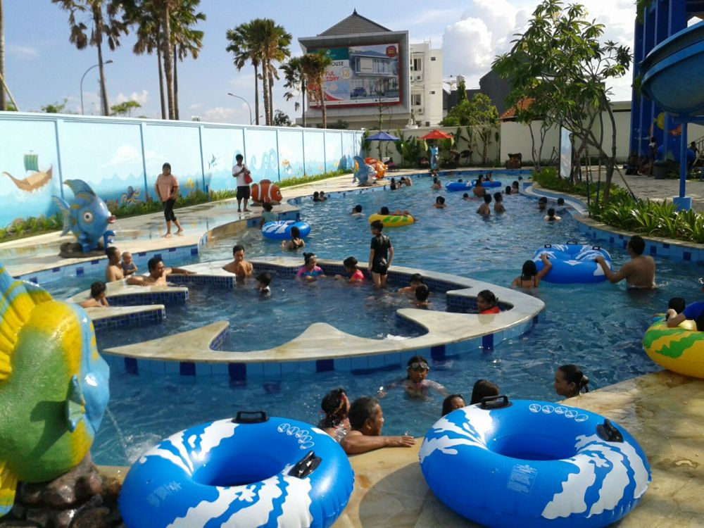 Harga Tiket Citraland Waterpark Denpasar Bali Kolam Renang Kelebihan Citranland