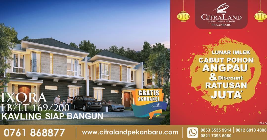 Real Estate Citralandpekanbaru Instagram Profile Picbear Happy Chinese Year Gong