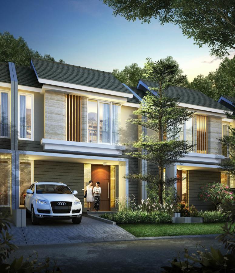 Rumah Dijual Citraland Type Magnolia Lb100 Lt160 Pekanbaru Taman Air