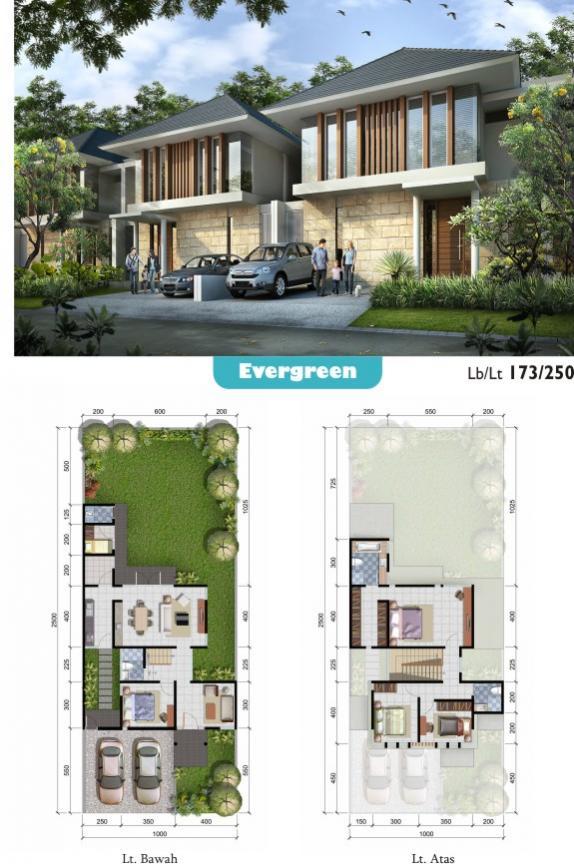 Rumah Dijual Evergreen Citraland Pekanbaru Berkualitas Terbaik Mewah Taman Air