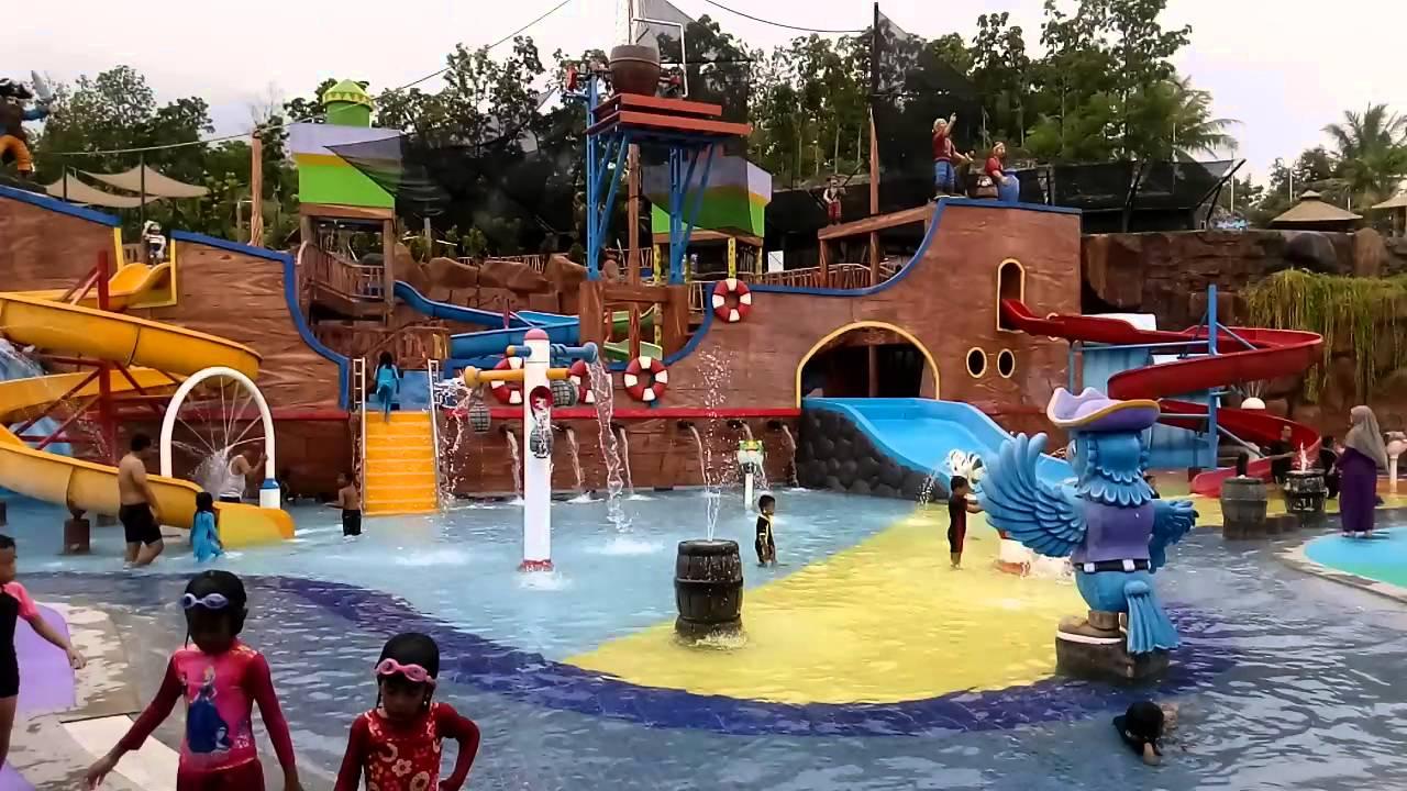 Waterpark Citragrand Mutiara Youtube Taman Air Citraland Kota Pekanbaru