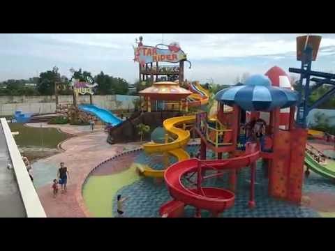 Waterpark Citraland Pekanbaru 2 Youtube Taman Air Kota