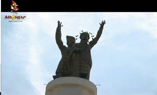 Monument Statue Indonesia Skyscrapercity Tugu Selamat Datang Makassar Mandiri Ribura