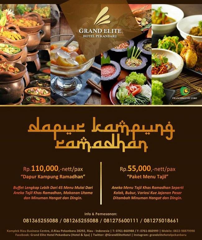 Riauaktual Informasi Cepat Tepat Selama Ramadhan Grand Elite Hotel Pekanbaru