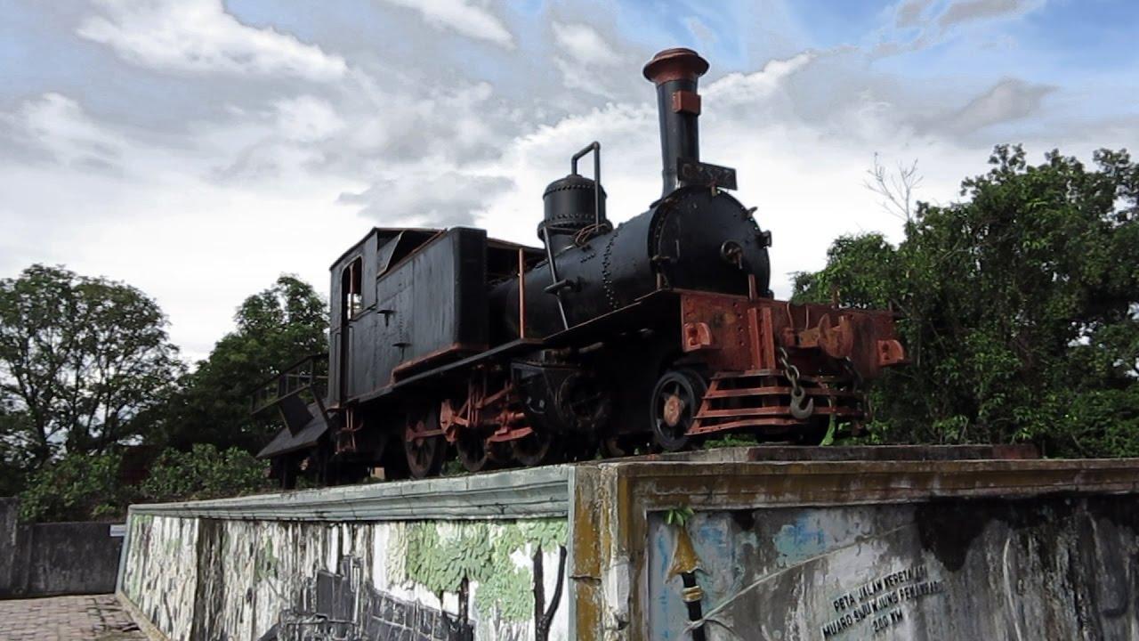 Lokomotif 2233 Atas Monumen Romusha Saksi Bisu Jalur Maut Kereta
