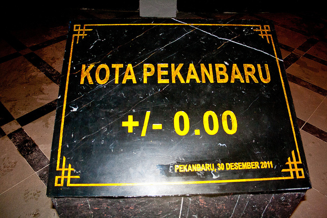Tugu 0km Pekanbaru Riau Daily Photo Zapin Berharga 4 5milyar