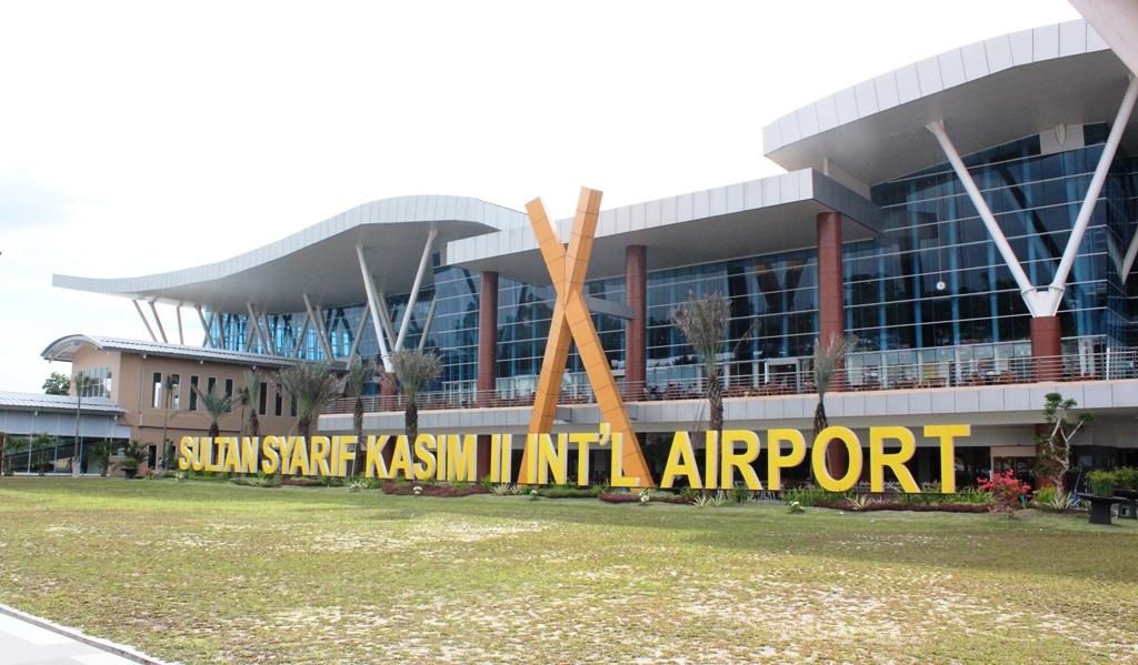 Wajah Kota Pekanbaru Keliling Riau Bandara Sultan Syarif Kasim Ii