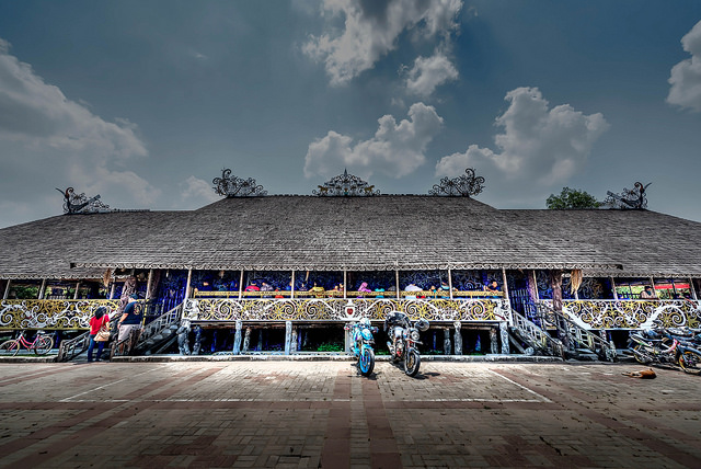 Desa Budaya Pampang Tempat Wisata Unik Plesiran Keunikan Keeksotisannya Menjadi
