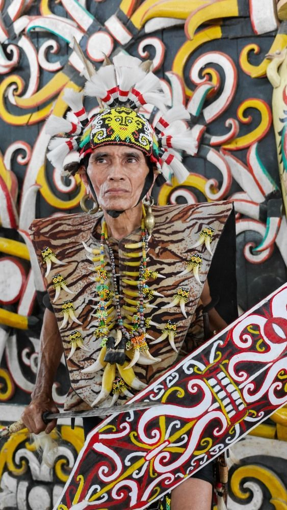 Desa Dayak Pampang Samarinda Kearifan Budaya Suku Mister Cukup Beralasan