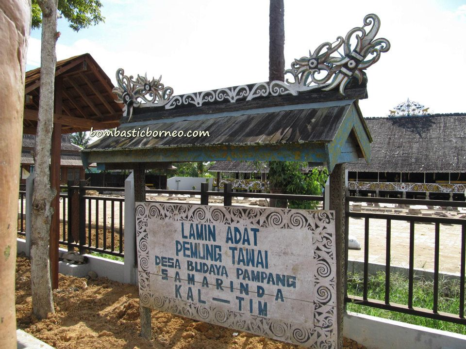 Lamin Adat Desa Pampang Samarinda Kalimantan Timur Bombastic Borneo Apokayan