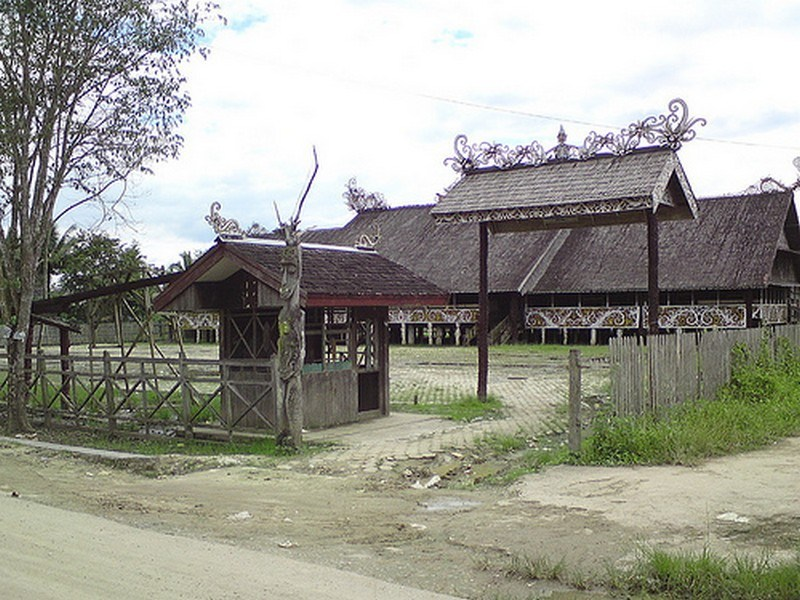 Pesona Wisata Samarinda Budaya Pampang Jpg Desa Kota