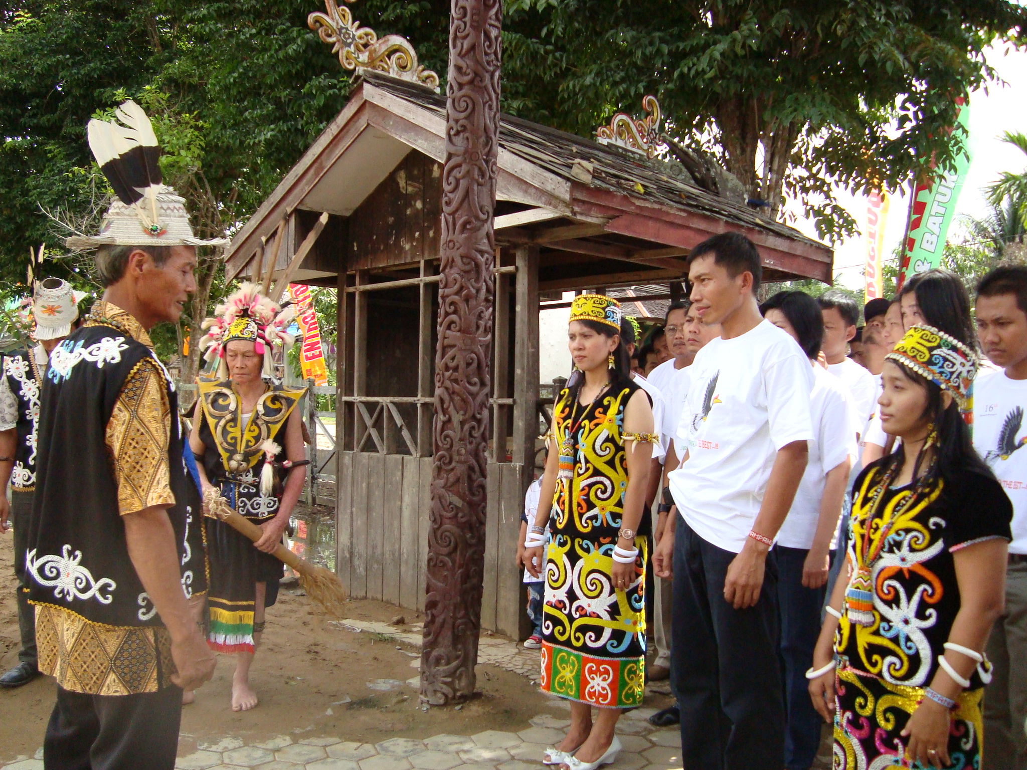 Sejarah Pampang Suni Aso Enseval Desa Budaya Kota Samarinda