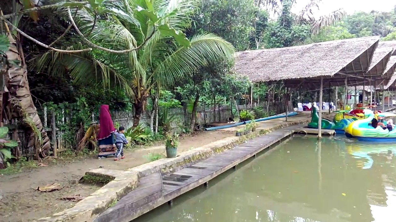 Air Terjun Pinang Seribu Sempaja Samarinda Youtube Dunia Jungle Kota