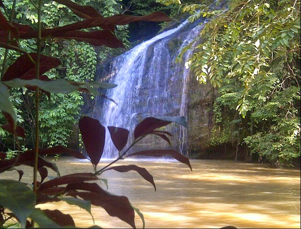 Air Terjun Tanah Merah Samarinda Wisata Budaya Kota Dunia Jungle