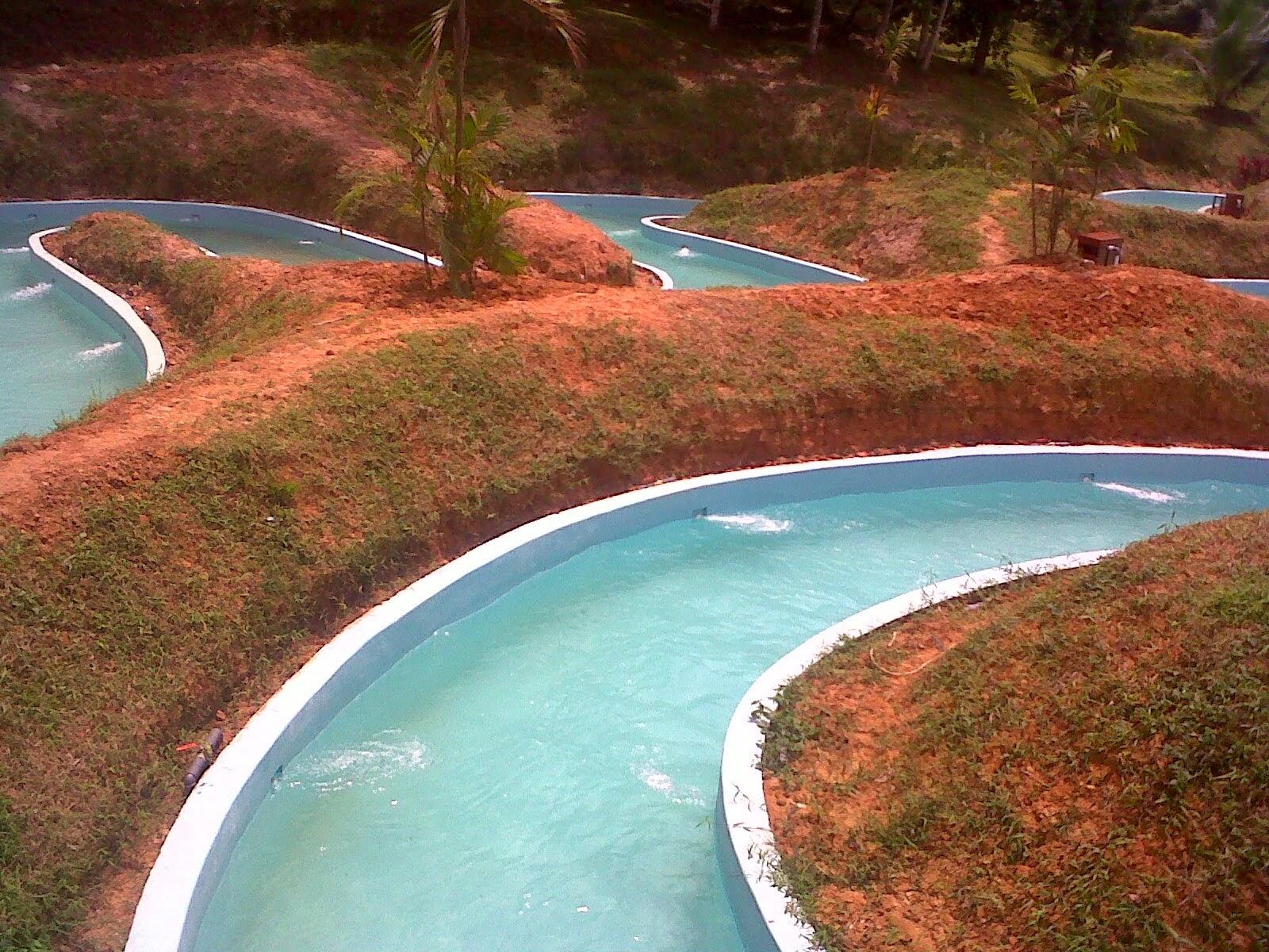 Arachely Serena Pramudya Bermain Air Jungle Water World Tentunya Menjelajahi