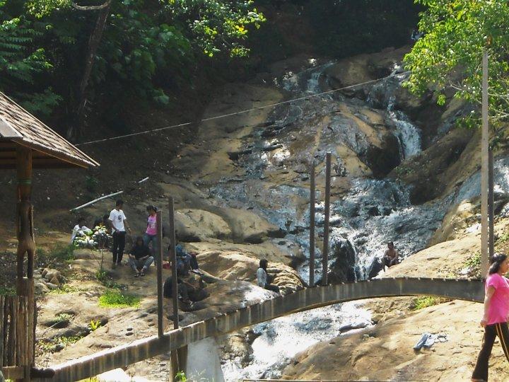 Ayo Samarinda Air Terjun Pinang Seribu Terletak Kelurahan Sempaja Utara