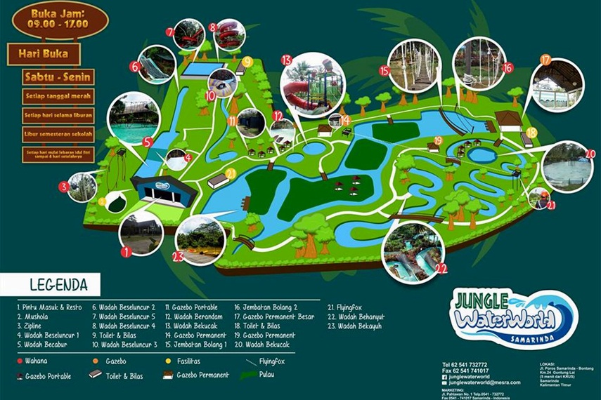 Jungle Water World Samarinda Visit Kaltim Gallery Dunia Air Kota