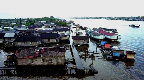 Samarinda Travel Information Indonesia Mahakam Nama Sebuah Sungai Terbesar Provinsi