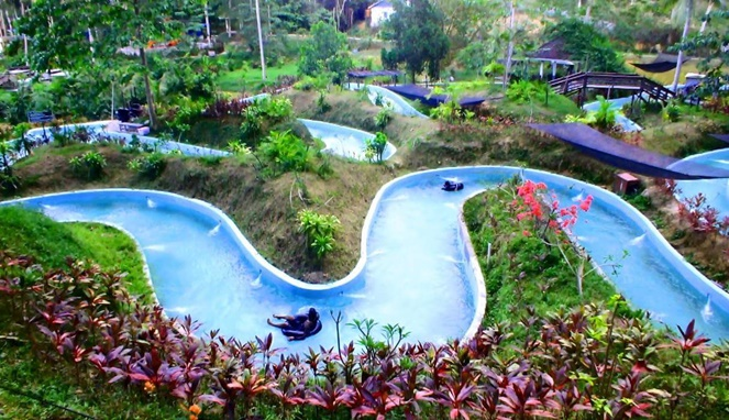 Yuk Seru Seruan Jungle Water World Samarinda Byur Balikpapan Blog