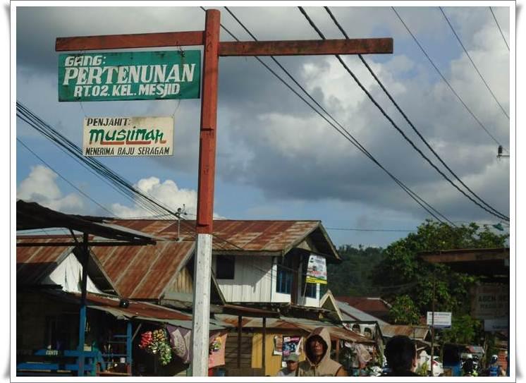 Kelurahan Tenun Kampung Rumah Adat Kel Samarinda Seberang Kota